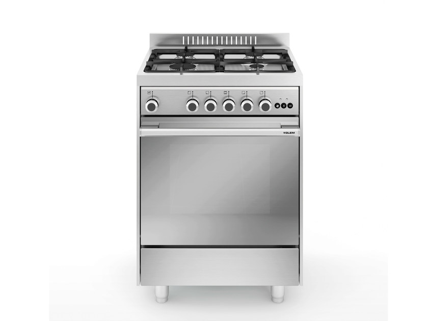 Steel cooker M654VI | Cooker by Glem Gas