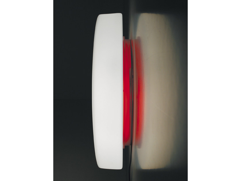 Glass wall lamp DRUM | Wall lamp by Ailati Lights