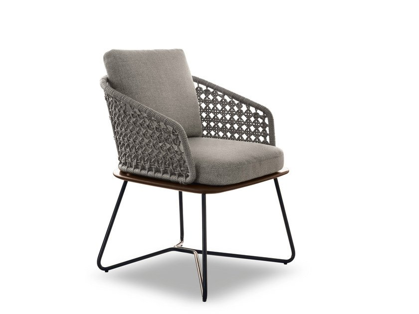 Outdoor chair RIVERA LITTLE by Minotti