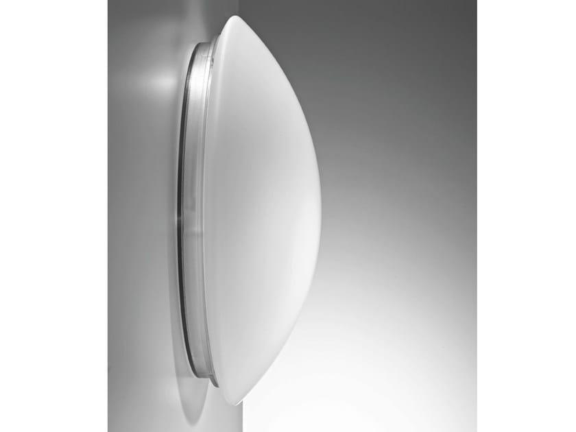 Glass wall lamp BIS   Wall lamp by Ailati Lights