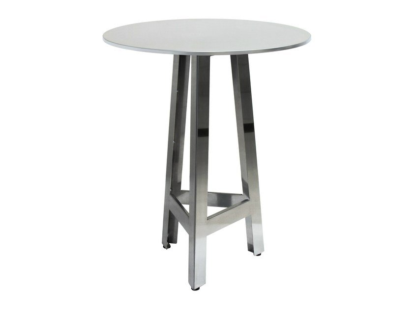Stainless steel contract table MARTINO-3-X by Vela Arredamenti
