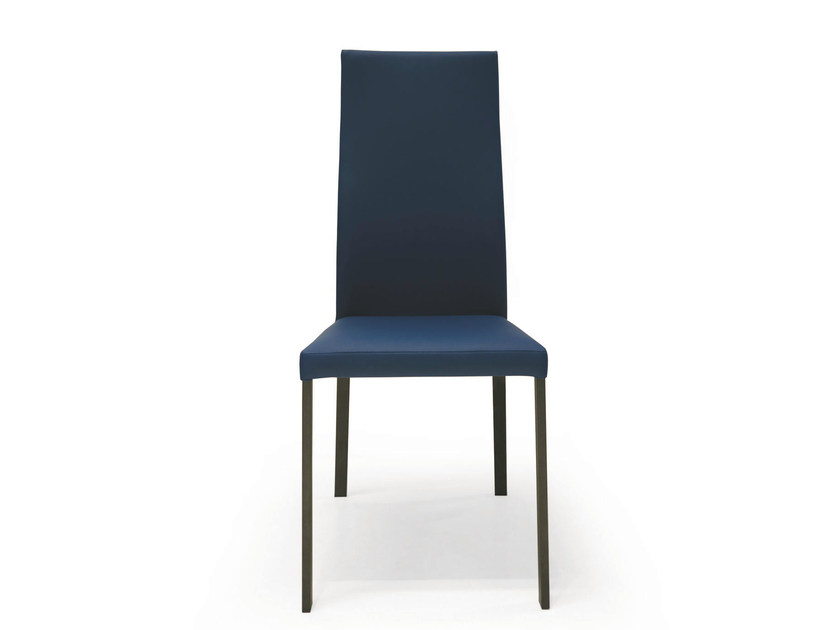 Upholstered fabric chair DENISE | High-back chair by RIFLESSI