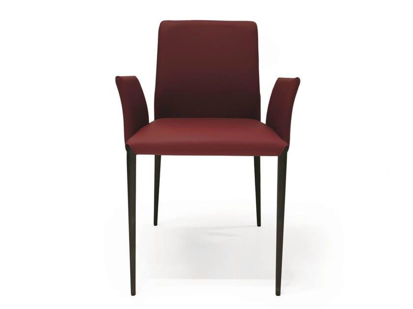 AURORA | Sedia con braccioli By RIFLESSI