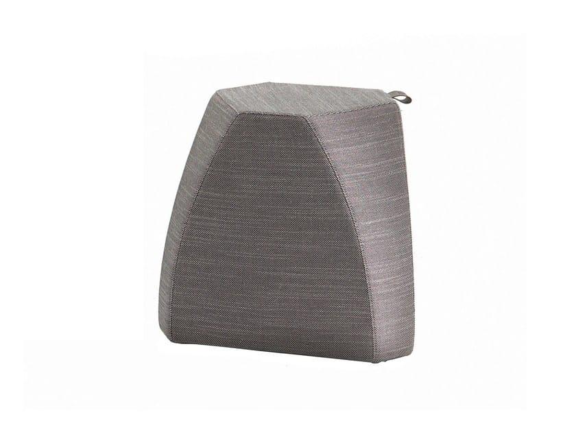 Fabric side table HUDSON   Fabric coffee table by Poltrona Frau