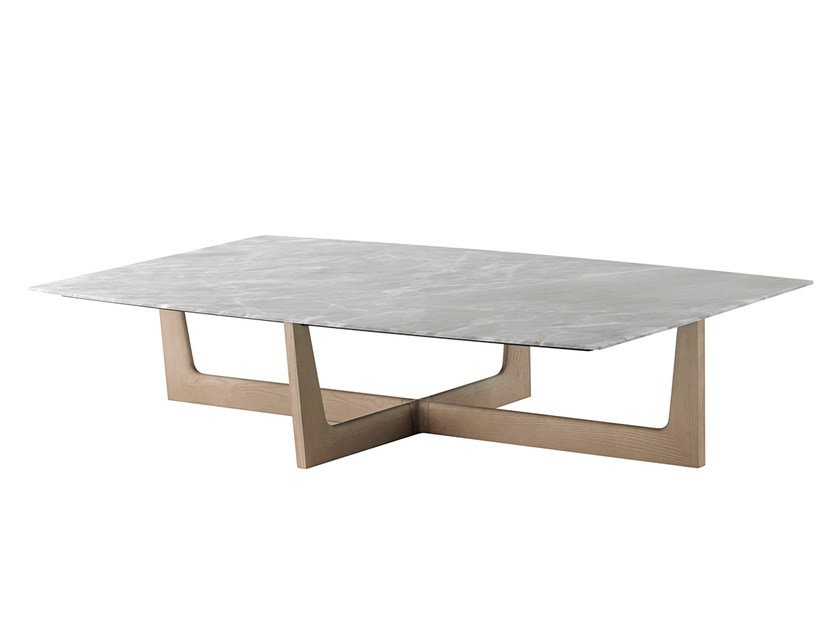 Rectangular Marble Coffee Table ILARY | Rectangular Coffee Table By  Poltrona Frau