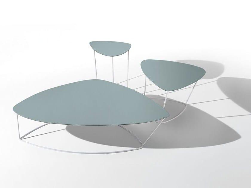 Steel coffee table GUAPA | Steel coffee table by Midj