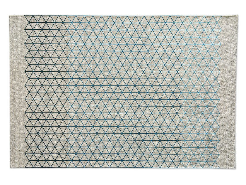 Rectangular rug with geometric shapes APOTEMA by Calligaris