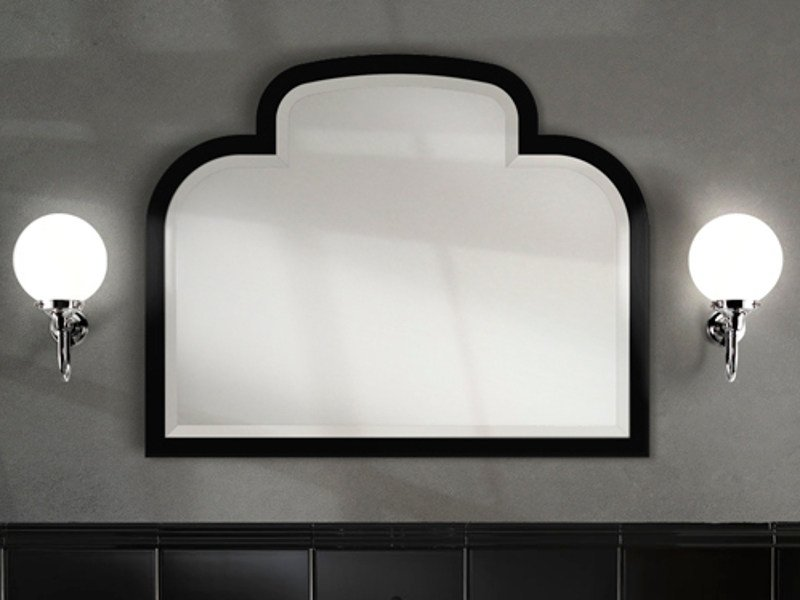 Wall-mounted framed mirror MUSIC   Mirror by Devon&Devon