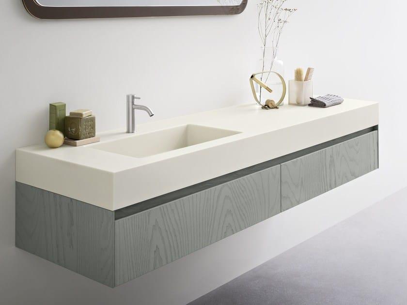 MOODE | Lavabo con encimera By Rexa Design