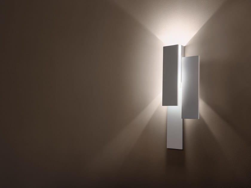 Led indirect light wall light klang suono by cini nils design
