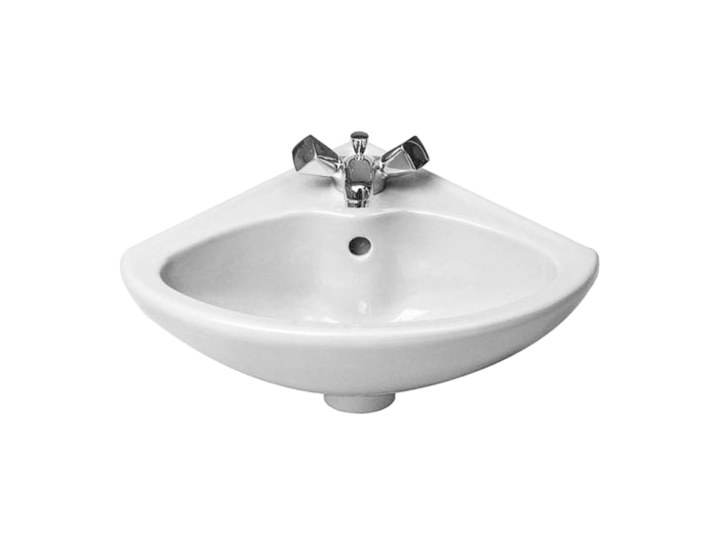 Corner ceramic handrinse basin DURAPLUS   Handrinse basin by Duravit