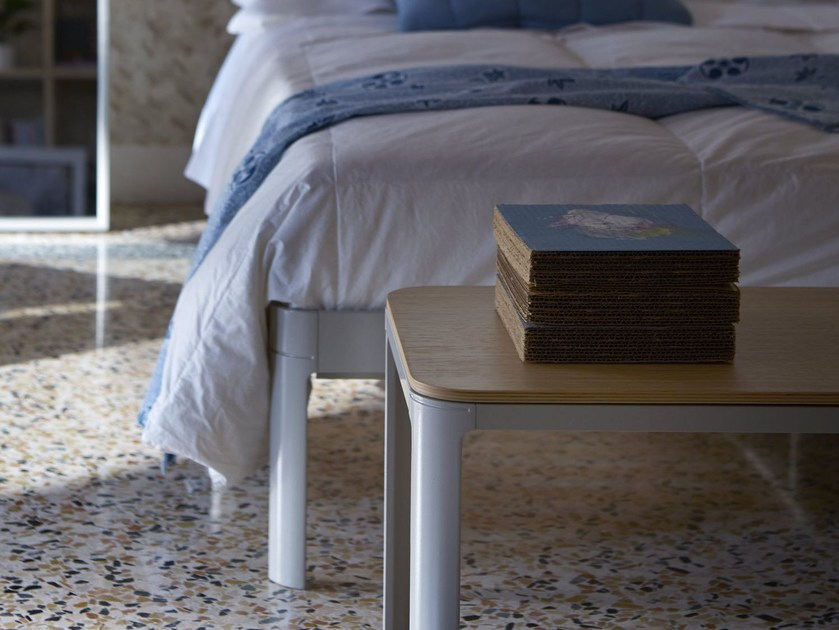 Steel and wood bench MINNY | Panca in MDF by iCarraro