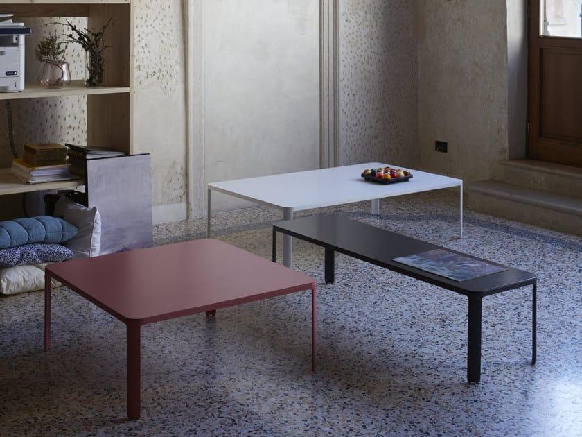 Low rectangular coffee table MINNY | Rectangular coffee table by iCarraro