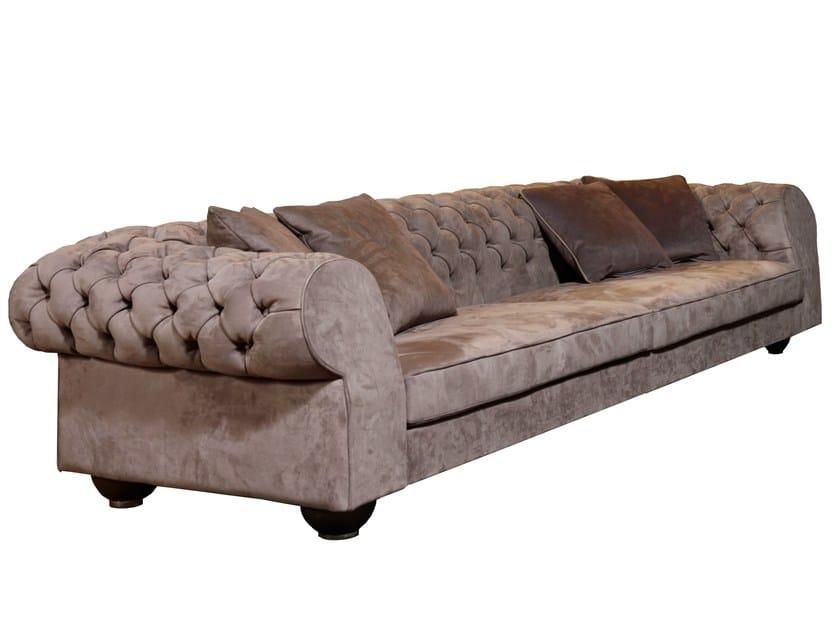 Tufted fabric sofa LLOYD by Nube Italia