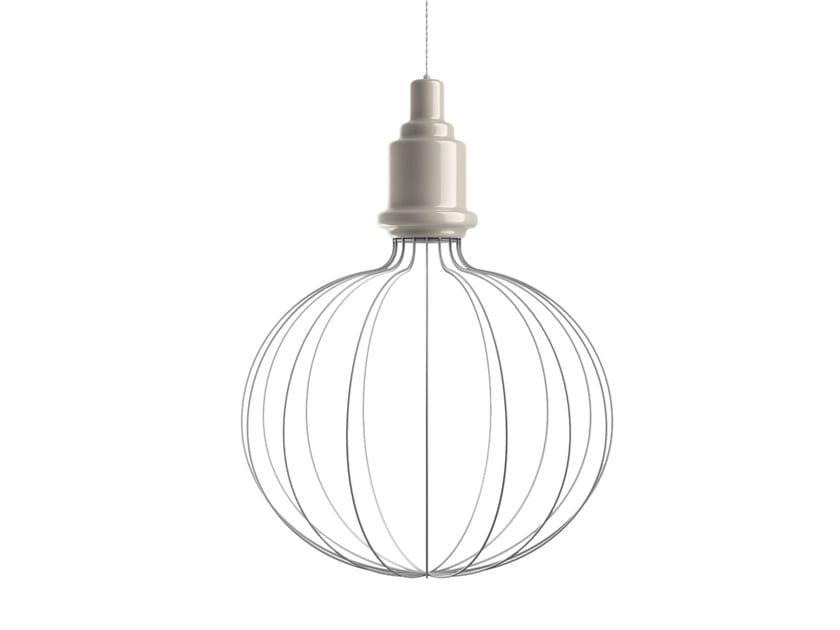 Ceramic pendant lamp EDISON SMALL B | Pendant lamp by MARIONI