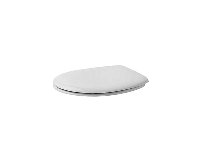 Plastic toilet seat with soft close DURAPLUS | Toilet seat by Duravit