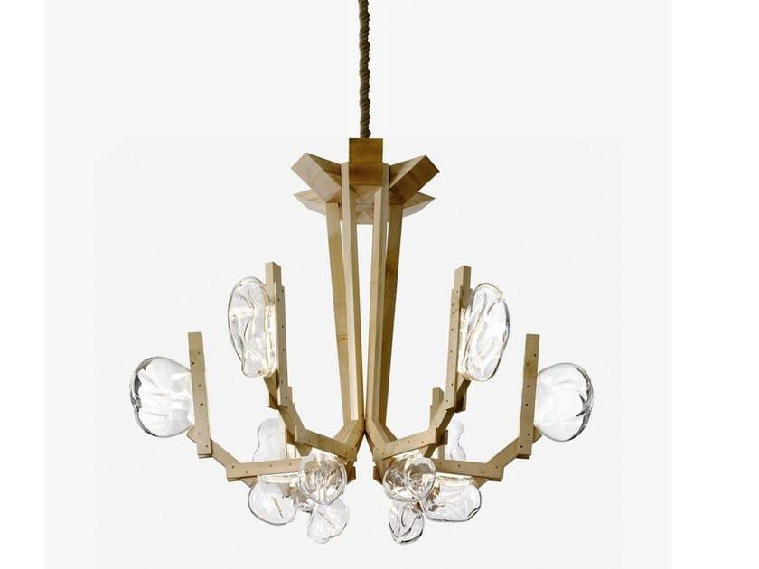 LED chandelier FUNGO by Lasvit