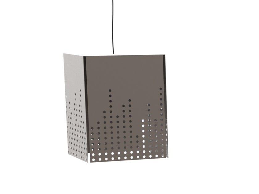Plate pendant lamp SKYLINE   Pendant lamp by Cantori