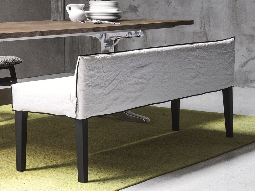 Bench with back UP 15 by Gervasoni