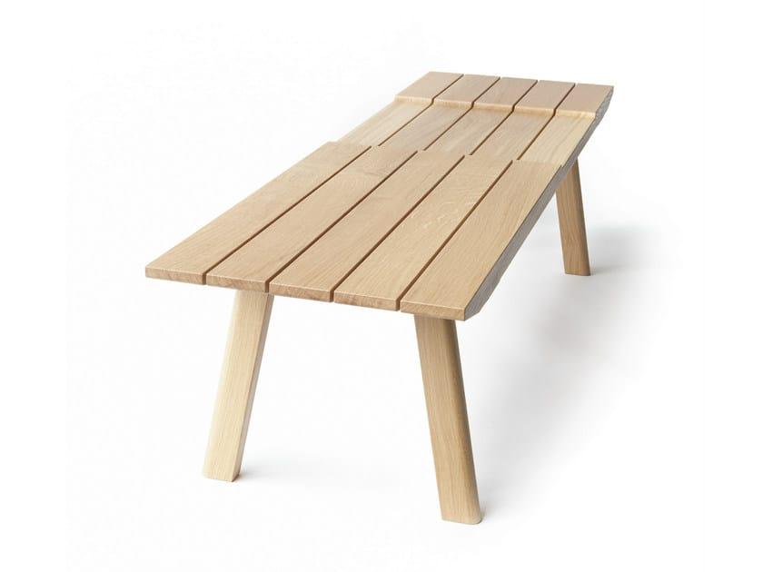 Oak garden bench TORONTO by Nikari
