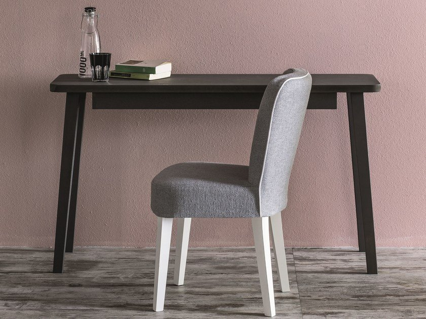 Solid wood secretary desk LC 60 by Letti&Co.