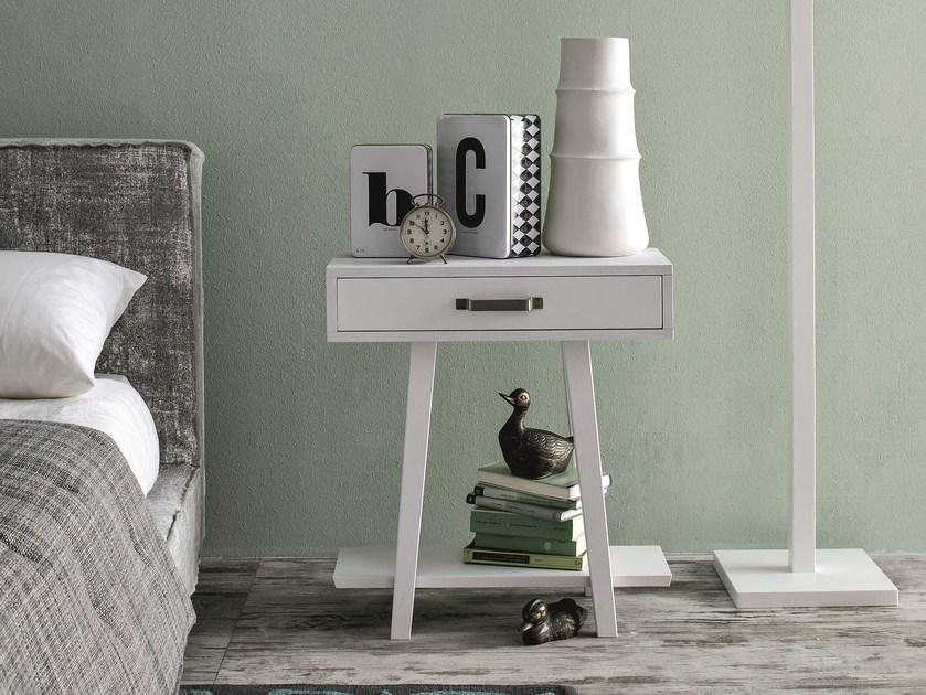Bedside table with drawers LC 53 by Letti&Co.