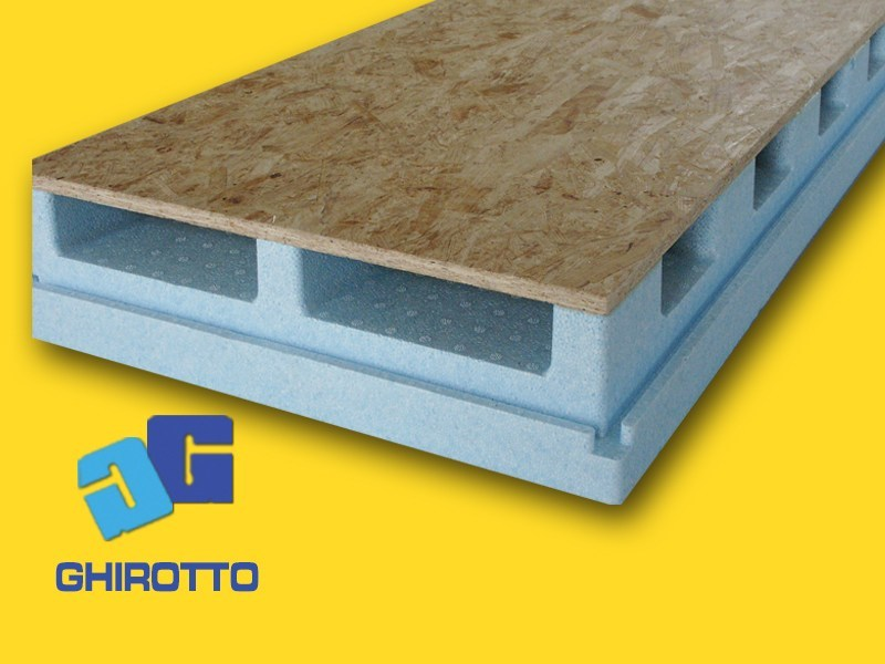 Ventilated roof system AIRVENT 28 by GHIROTTO