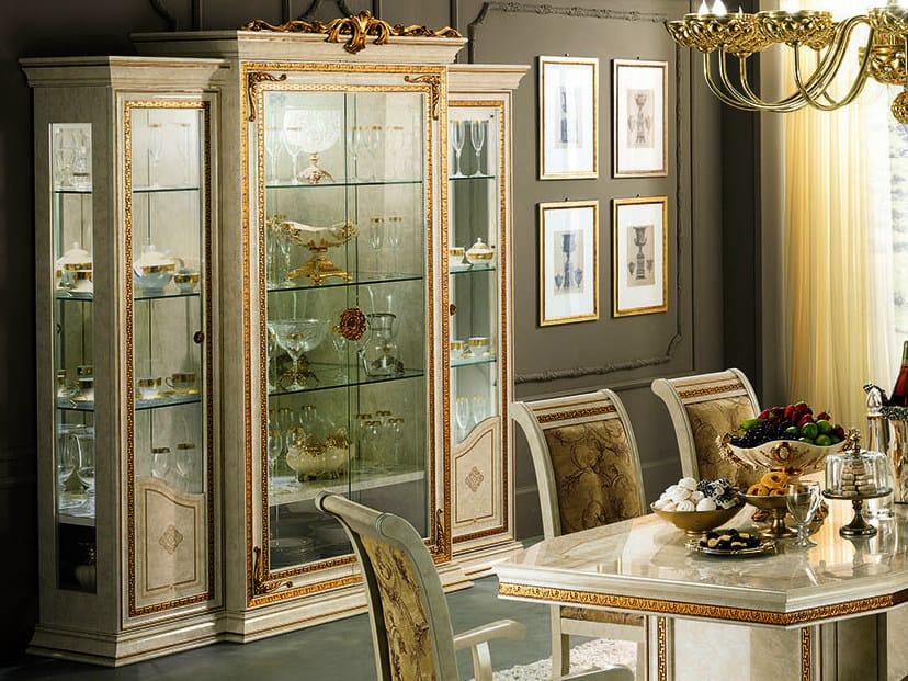 Classic style wooden display cabinet LEONARDO | Display cabinet by Arredoclassic