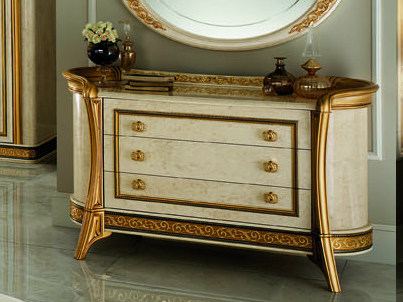 Wooden chest of drawers MELODIA | Chest of drawers by Arredoclassic