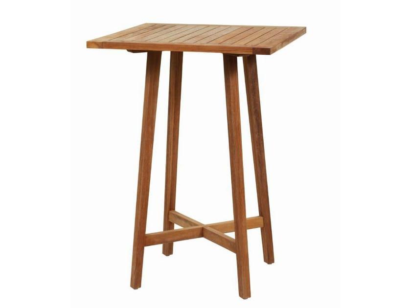 Tavolo alto da giardino quadrato GIPSY | Tavolo alto by Il Giardino di Legno