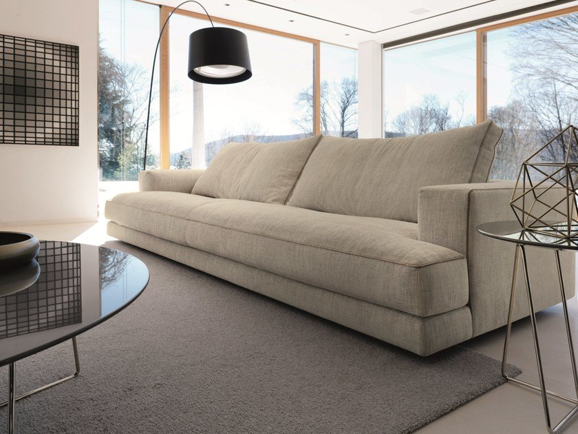 Sofa with removable cover nathan by d sir e divani for Sofa contemporain design