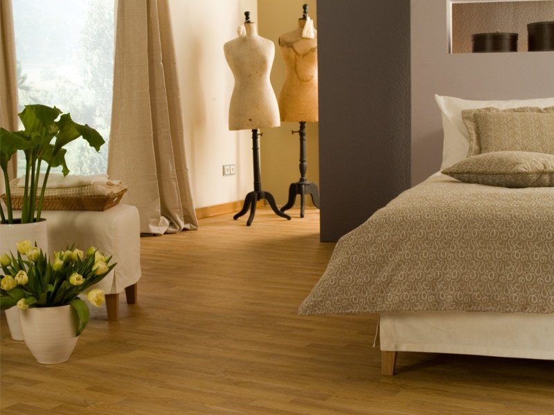 Self-adhesive flooring with wood effect TEXLINE HQR by gerflor