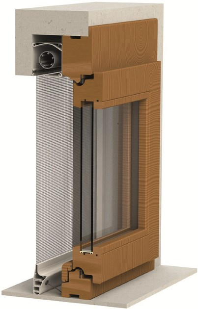 Built-in vertical insect screen IRENE | Built-in insect screen by Mv Line