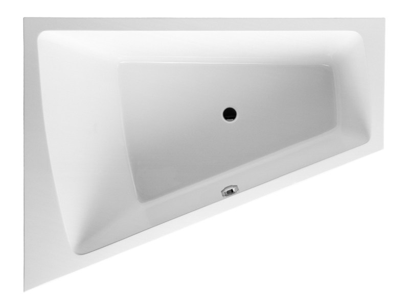 Built-in corner bathtub PAIOVA | Built-in bathtub by Duravit