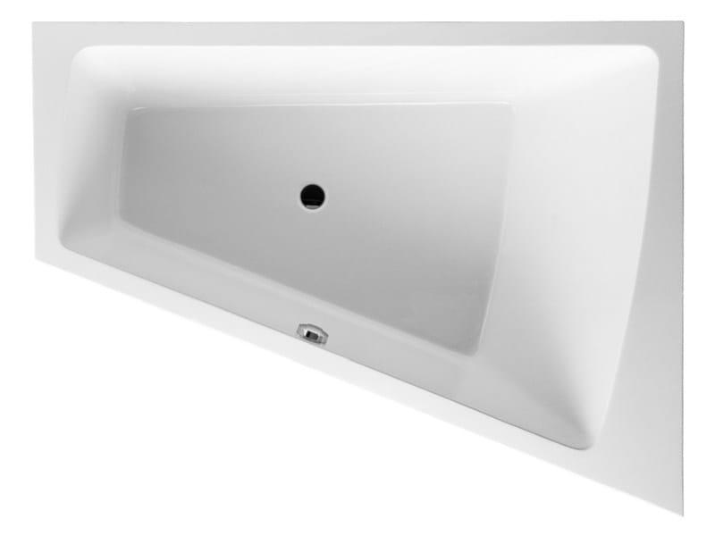Built-in corner bathtub PAIOVA | Built-in bathtub by Duravit