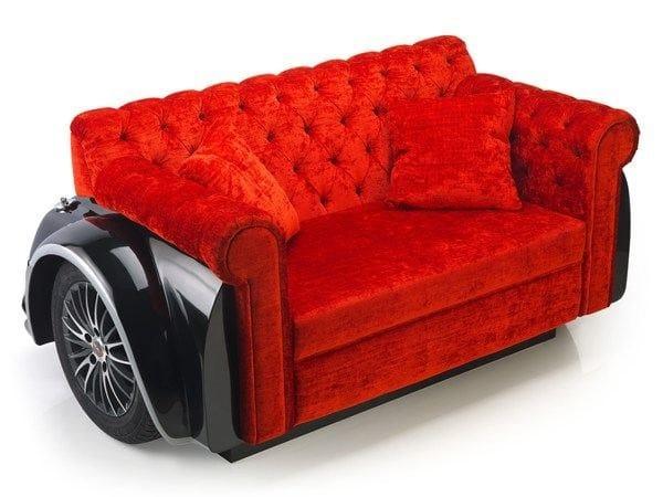 Tufted 2 seater sofa MARYLIN   Leisure sofa by Domingo Salotti