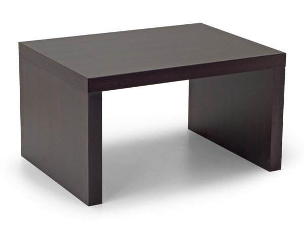 Rectangular bistro side table PIQUADRO | Wooden coffee table by Domingo Salotti