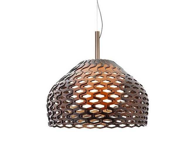 Polycarbonate pendant lamp TATOU S2 by Flos