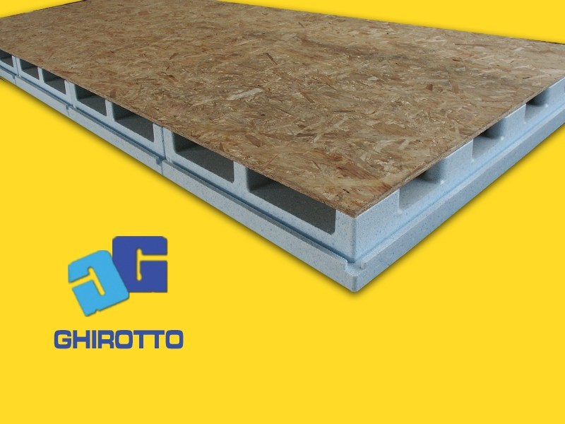 Ventilated roof system AIRVENT 28 PANNELLONE by GHIROTTO