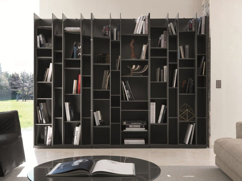 Modular bookcase LZ by Zalf