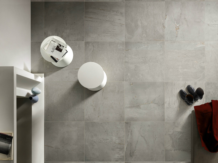 Porcelain stoneware wall/floor tiles with stone effect BRIT GREY by EDIMAX CERAMICHE