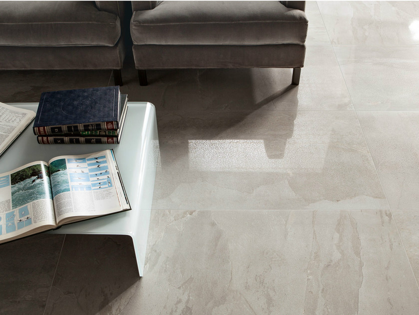 Porcelain stoneware wall/floor tiles with stone effect DISCOVERY GREY by EDIMAX CERAMICHE