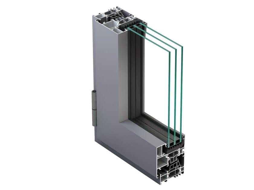 Aluminium casement window NC 65 STH HES by METRA