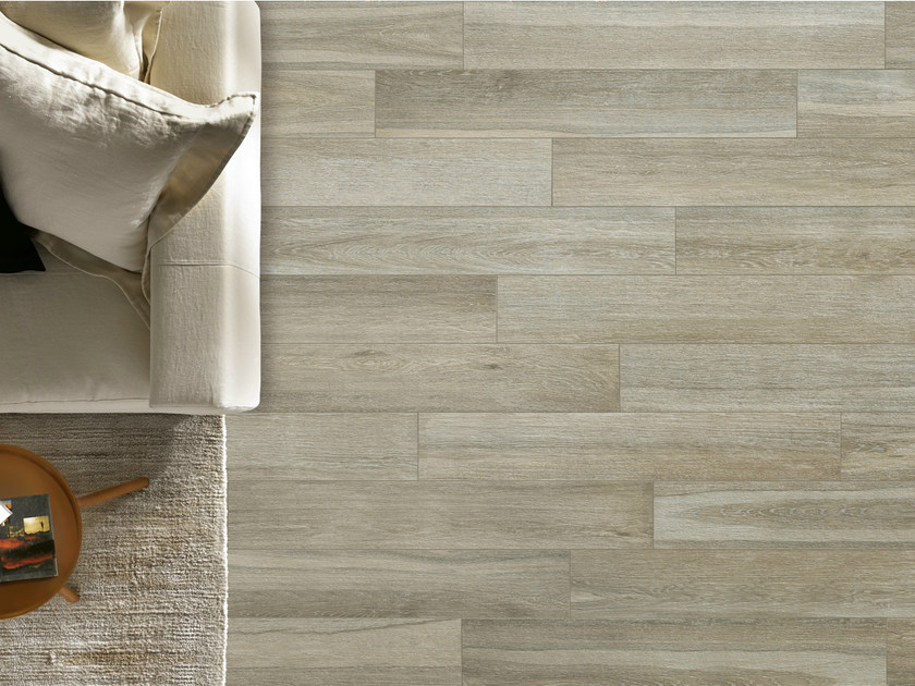 Porcelain stoneware wall/floor tiles with wood effect ELEGANCE PERLE by EDIMAX CERAMICHE