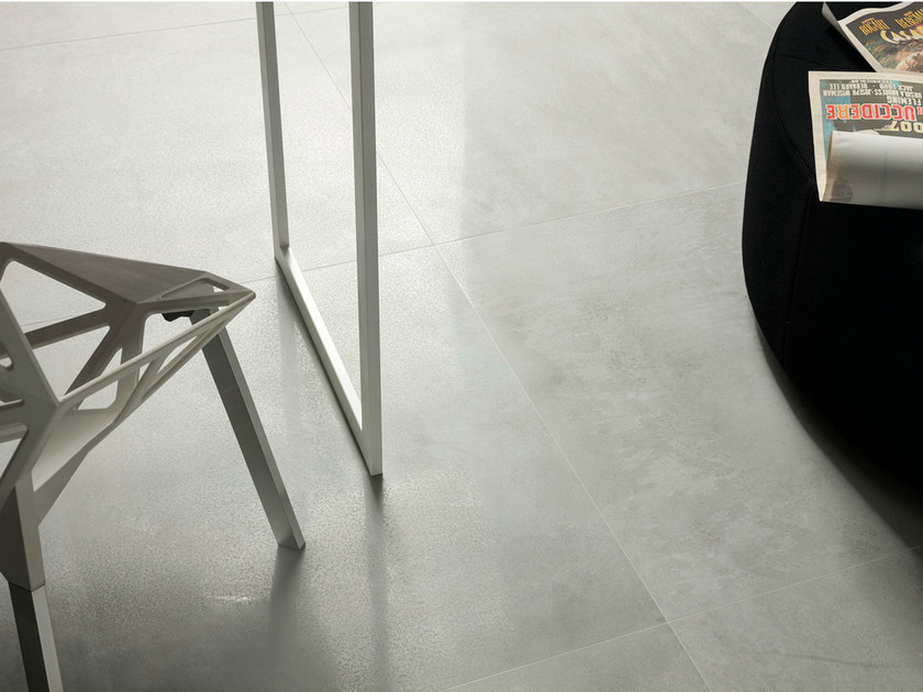 Porcelain stoneware wall/floor tiles with metal effect CULT CLAIR by EDIMAX CERAMICHE