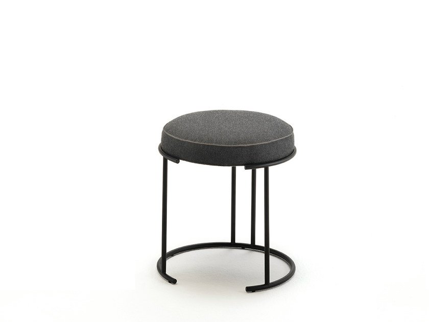 Low fabric stool NINA | Low stool by Living Divani