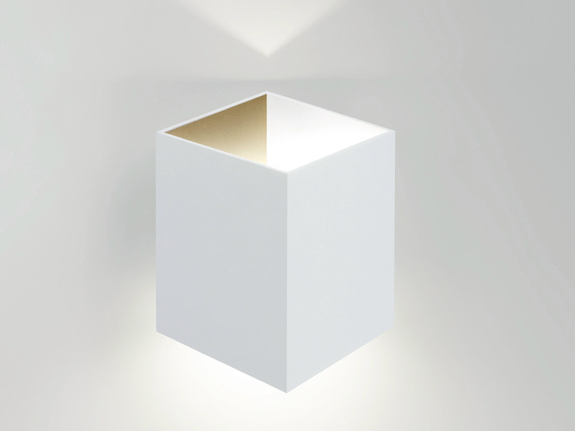 LED indirect light wall light FIFTY-5 by Delta Light