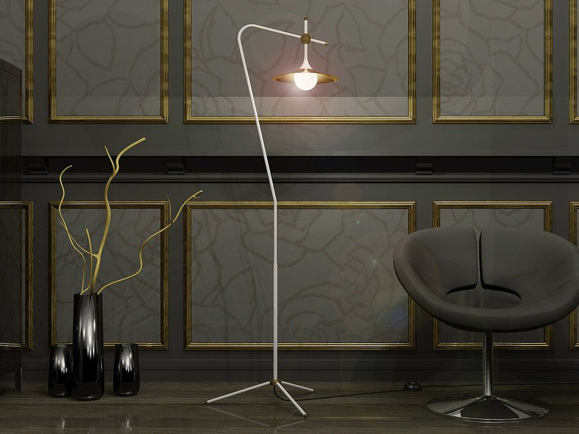 Direct light floor lamp S-1 by Intueri Light