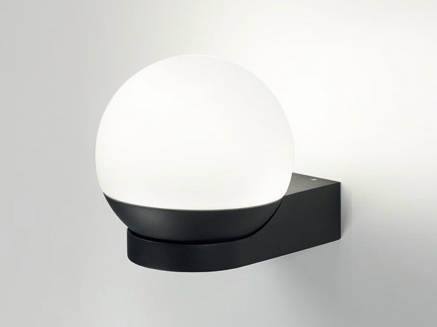 LED indirect light wall light TWEETER FIX W BL by Delta Light