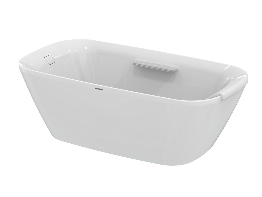 NEOREST | Rectangular bathtub By TOTO